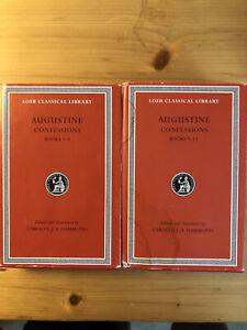 AUGUSTINE Confessions (Hammond) Loeb Classical Library - Latin & English
