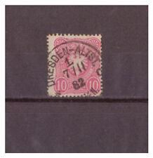 Deutsches Reich, MiNr. 41 K 1 Dresden-Altstadt 07.11.1882
