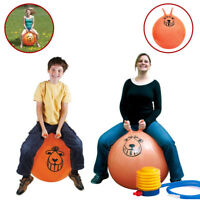 RETRO SPACE HOPPER TOY LARGE BALL ADULT KIDS BOUNCE 60CM / 80CM