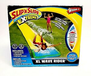 NEW Wham-O Slip N Slide Wave Rider 18 Feet Inflatable XL Extra Long Pool Splash