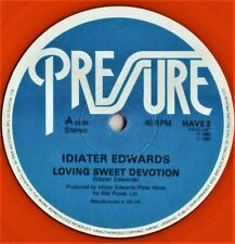 "12"" Boogie - FunkIDIATER EDWARDS loving sweet devotion 1985 COLORED REISSUE"