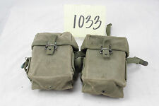 Vietnam Era M56 Ammo Pouches, Sold in Pairs