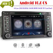 "7"" Android 10 Autoradio Navigation Bluetooth GPS DVD für VW TOUAREG T5 Multivan"