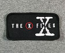 THE X FILES Patch 4in iron-on patch TV UFO Alien si