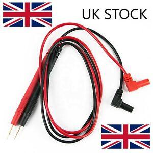 1000V 10A Digital Multi-meter Lead Probes Test Clips Volt Meter Cable, DVM