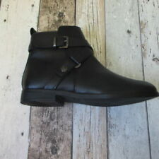 Composition Leather Patternless Regular Boots for Women