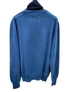 Maison Martin Margiela Navy / Blue  Rollneck Sweater Size L (fits M))