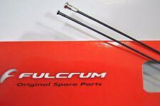 Raggio FULCRUM Red Metal 3 Anteriore Sinistro Black 267mm