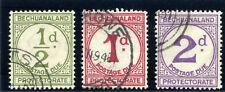 Bechuanaland 1932 KGV Postage Dues set complete VFU. SG D4-D6c.