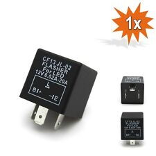 LED Electronic Indicator Flasher Relay for Classic Cars OE CLICKING 12V 3Pin F13