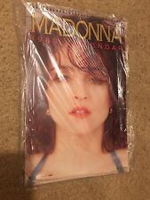 Vintage 1989 Madonna Calendar By Rock Express from USA NEW In Plastic