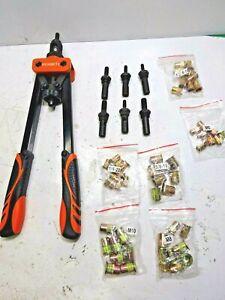 """REXBETI 14"""" Rivet Nut Tool Professional Rivet Setter Kit"""