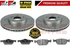 CG4 98-01Front Brake Discs /& MTEC Premium Brake Pads Honda Accord Coupe 2.0 ES
