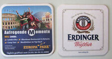 1 dessous de verre: Parc d'attractions Europa-Park Rust de 2008. ERDINGER originelle.