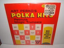 ART PERKO'S POLKA HITS. PEANUTS & MAGIC TRUMPETS LP..TRLPS-1001