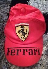Cappellino baseball FERRARI formula 1 vintage cap auto corsa cavallino stock 40f9837f24d1