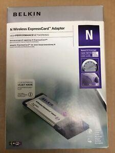 New Belkin N Wireless ExpressCard Adapter (F5D8073uk)