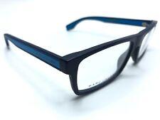 b742a742f779 Marc Jacobs Eyeglass Frames MARC-290 FLL Dark Blue Rubber 55mm AUTHENTIC  0602