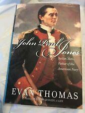 Evan Thomas JOHN PAUL JONES 2003 First Edition 1st Printing Sailor American Navy
