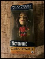Funko Wacky Wobbler Bobble Head BBC Doctor Who Clara Oswald - Boxed