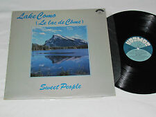 ALAIN MORISOD - SWEET PEOPLE Lake Como (Le Lac de Come) LP Kosmos Kos-109 1977