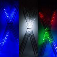 8x Meteor Shower Falling Star Rain Drop Icicle Snow LED Xmas Tree String Lights