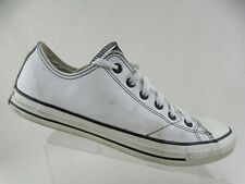 CONVERSE All-Star White Low Sz 11 Men Leather Sneakers