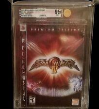 Factory Sealed - Soul Calibur IV - Soulcalibur - Premium Edition - PS3 - VGA 95