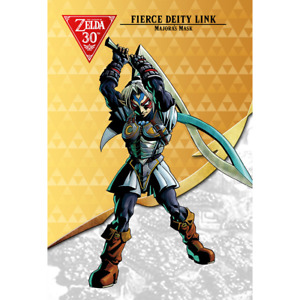 Fierce Deity Link Amiibo COIN | Fierce Deity Set | Legend of Zelda: BOTW