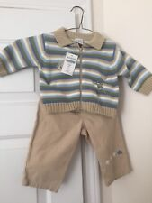 NWT Gymboree boys Vintage 3-6 months Spring is in the Air 2003 Set Sweater Pants