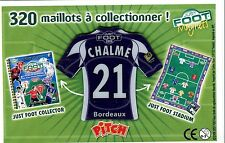AIMANT FRANCE FOOT 2008 N° 21 (BORDEAUX) CHALME