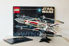 Lego Star Wars 7191 X-Wing Fighter 100% Complete with Instruction and Box