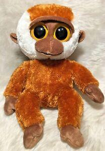 """TY Beanie Boo Brown Gorilla Bongo 9"""" or 21.5cm Plush Toys - 2013 - 15626"""