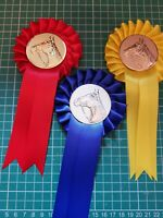 1 Teir Rosettes With metal Centres