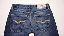 REPLAY Women's WV524,032 Straight Leg Stretch Cotton+Elastane Medium Blue Jeans