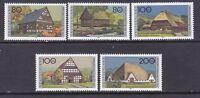 Germany B802-06 MNH 1996 Various Types of Farm Houses Full Set Very Fine