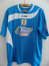 2012 13 JAKO Tamworth Football Club Soccer Football Shirt COURTNEY #15 Mens Away