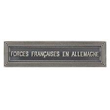 AGRAFE FFA FORCES FRANCAISES EN ALLEMAGNE NEUVE POUR MEDAILLE ORDONNANCE LS