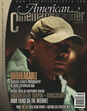 American Cinematographer - December 2000 - Bruce Willis in Unbreakable