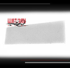 08 09 10 FORD SUPER DUTY FRONT BUMPER STAINLESS STEEL MESH GRILLE GRILL CHROME
