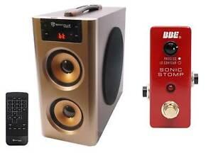 BBE MS-92 Mini Sonic Stomp Sonic Maximizer Stomp Pedal + Free Bluetooth Speaker