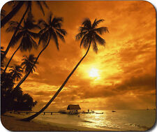 Scenic Tropical Beach Ocean Large Mousepad Mouse Pad Great Gift Idea