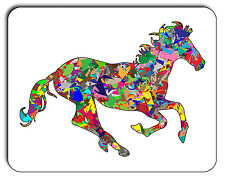 Psychedelic Horse Mouse Mat, Mousepad,