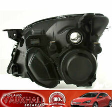 VAUXHALL VECTRA C NEW BLACK HEADLIGHT HEADLAMP DRIVERS OFF RIGHT SIDE SRI CDTI