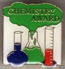 """CHEMISTRY AWARD"" School Enamel Lapel Pins/Wholesale Lot of 25/NEW LINE!"
