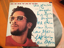 "KENYATTA - LOVE AGAIN + I WANNA DO SOMETHING FREAKY TO YOU - 12"" UK '91 VG+/NM"