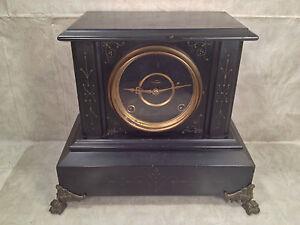 Antique Ingraham Nemo Mantel Clock