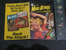 MARS ATTACKS - No 2 (Of 54) - Date 1988 - Topps Mini Comic Book
