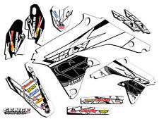 2005 2006 RMZ 450 GRAPHICS KIT SUZUKI RMZ450 05 06 DECO DECALS STICKERS MOTO FLY