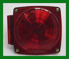 440 STT Incandescent RED Light Stop Turn Tail License Truck Trailer -Left Side